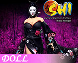 DL0718 1/6 Female Ninja America (Doll)