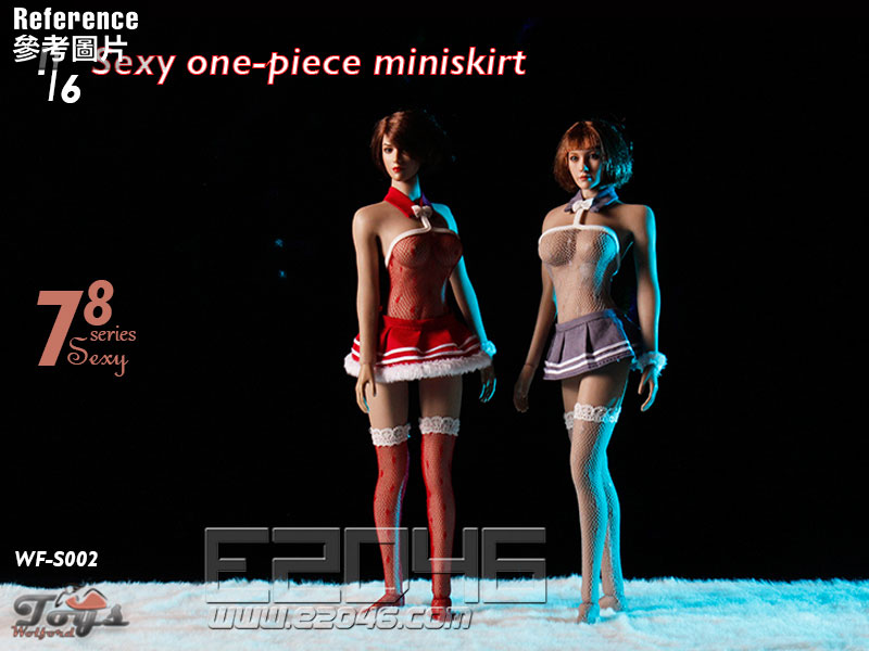 Sexy One-Piece Miniskirt B (DOLL)
