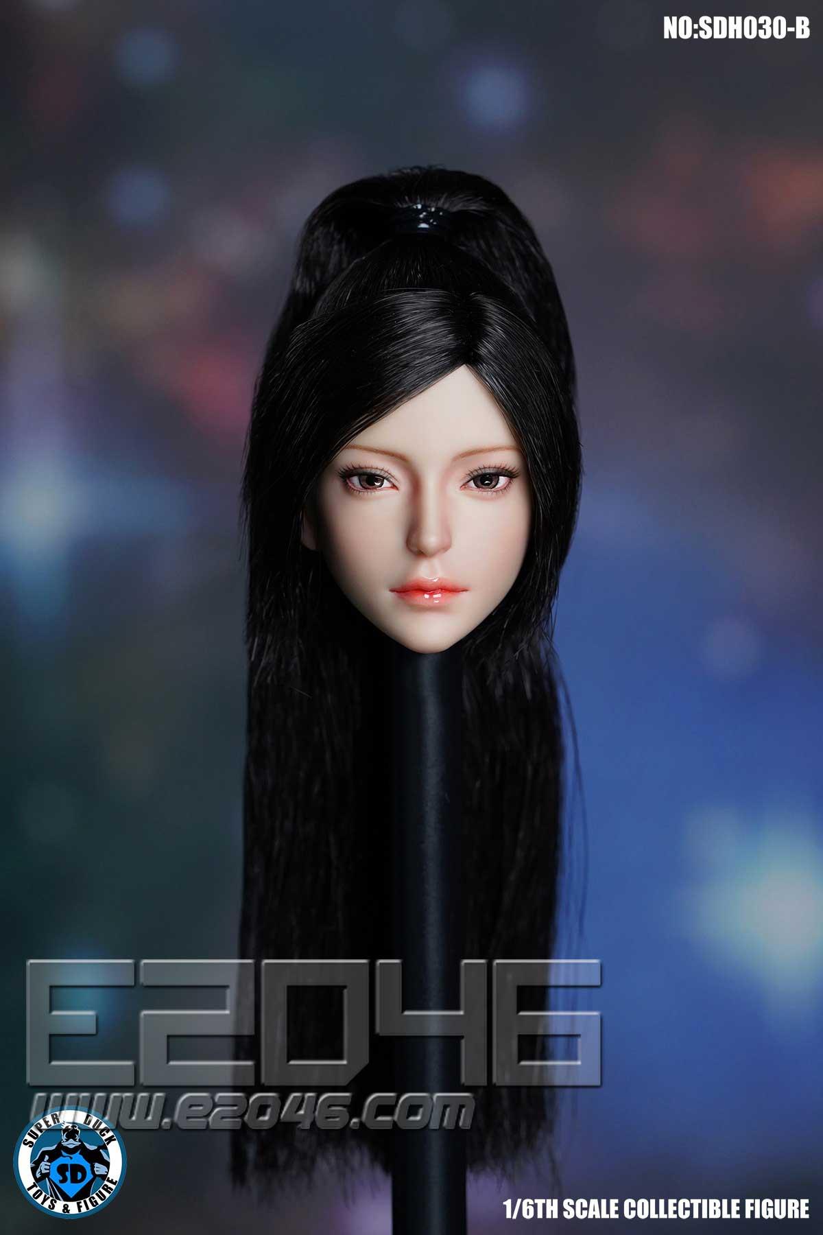 Female Head Sculpture B (DOLL)