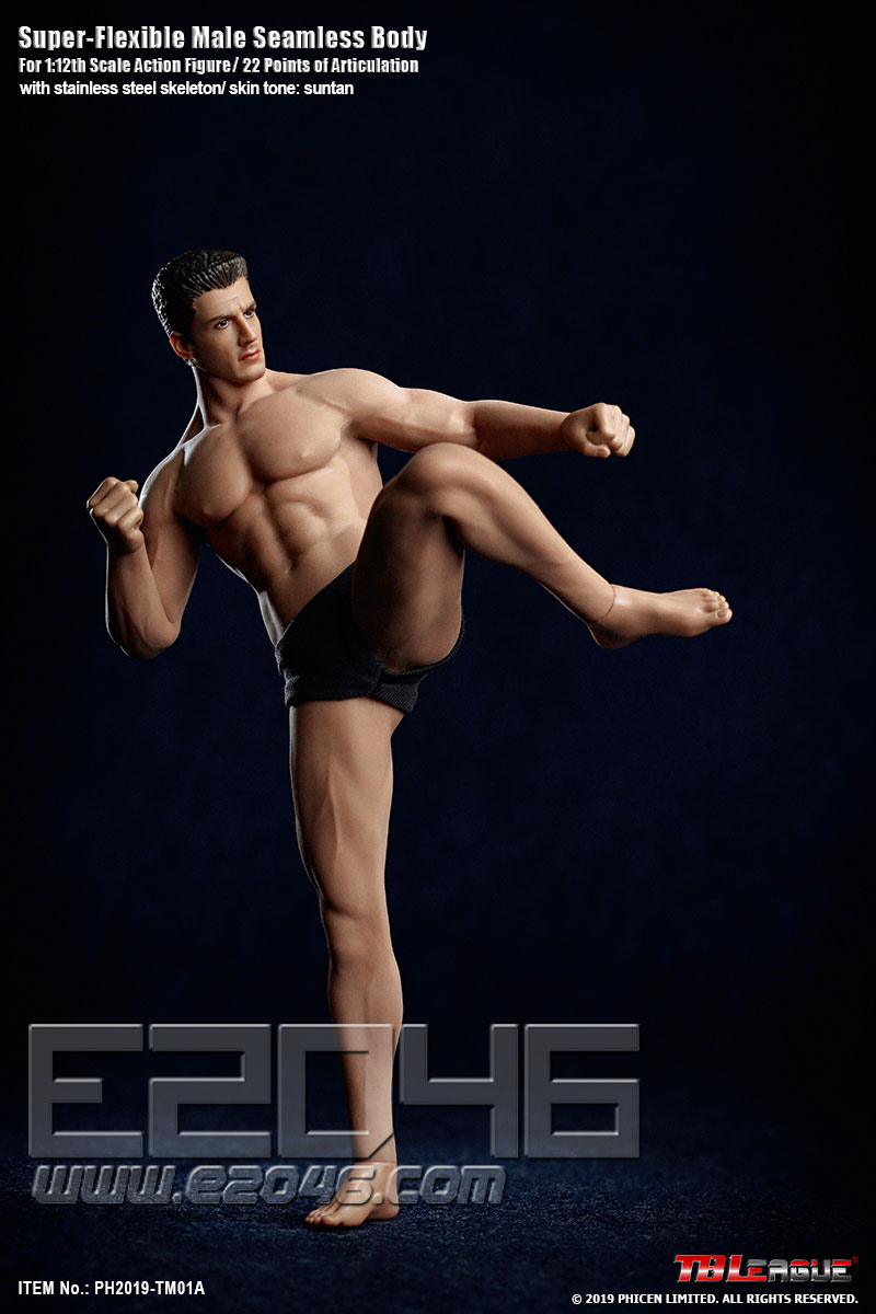 Super Flexible Male Seamless Body (DOLL)