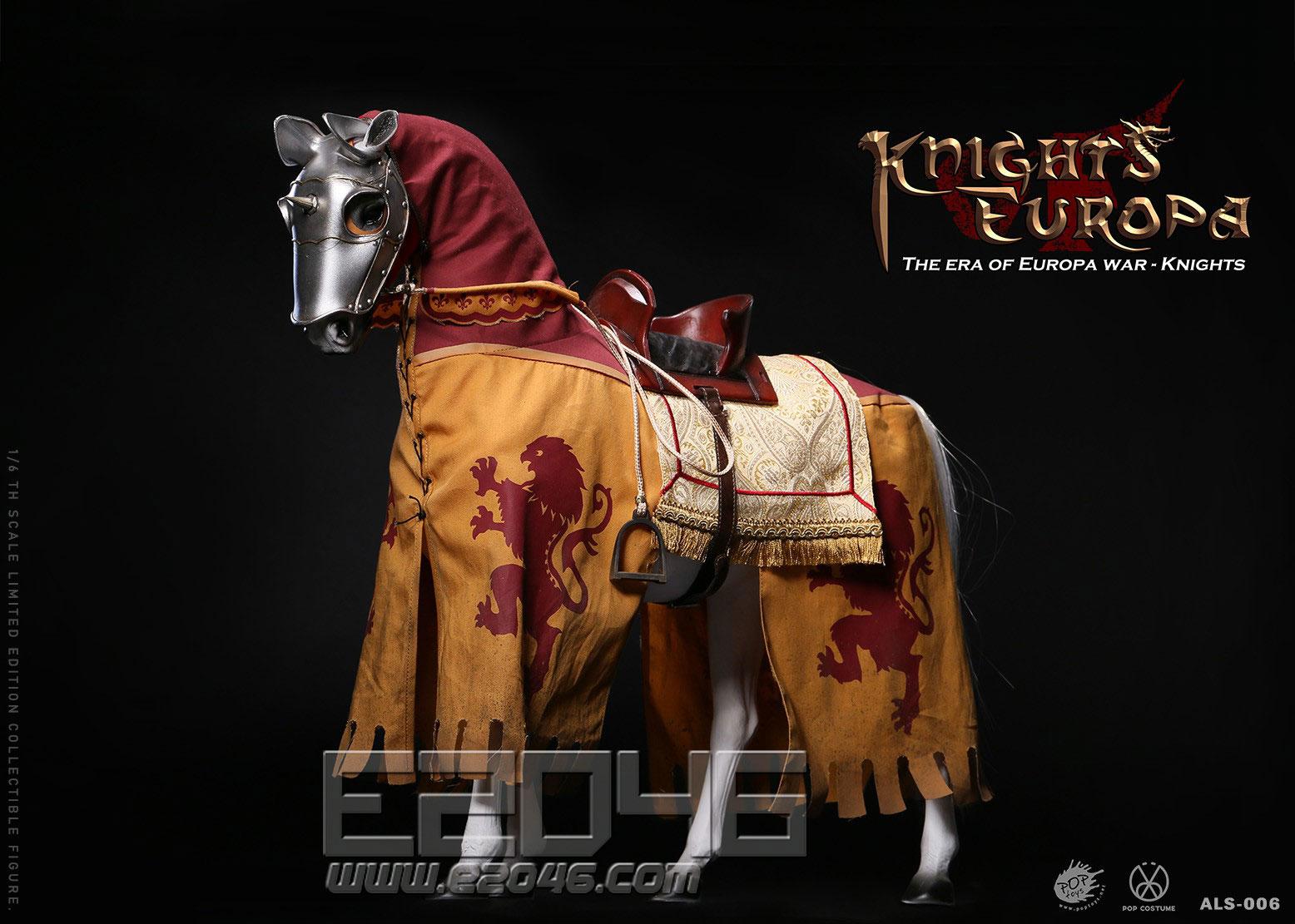 Silver Armor Horse (DOLL)