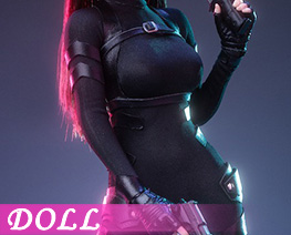 DL4725 1/6 Female Agent Stealth Outfit B (DOLL)