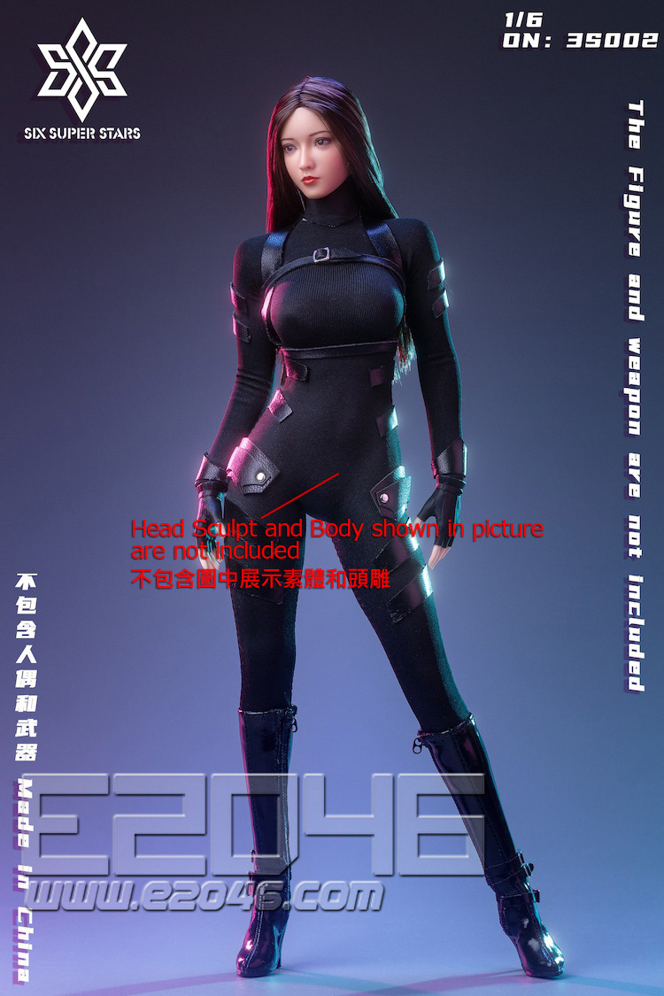 Female Agent Stealth Outfit B (DOLL)