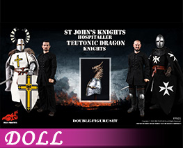 DL4505 1/6 Knights of St. John's Hospital & Teutonic Knight Set (DOLL)