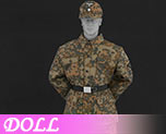 DL0766 1/6 Camouflage Uniform suit D (Doll)