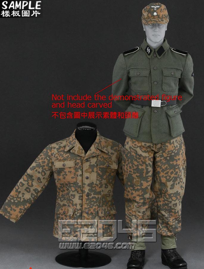 Camouflage Uniform suit D (Doll)