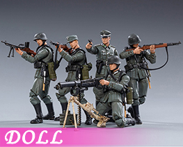 DL3970 1/18 Wehrmacht Five (DOLL)