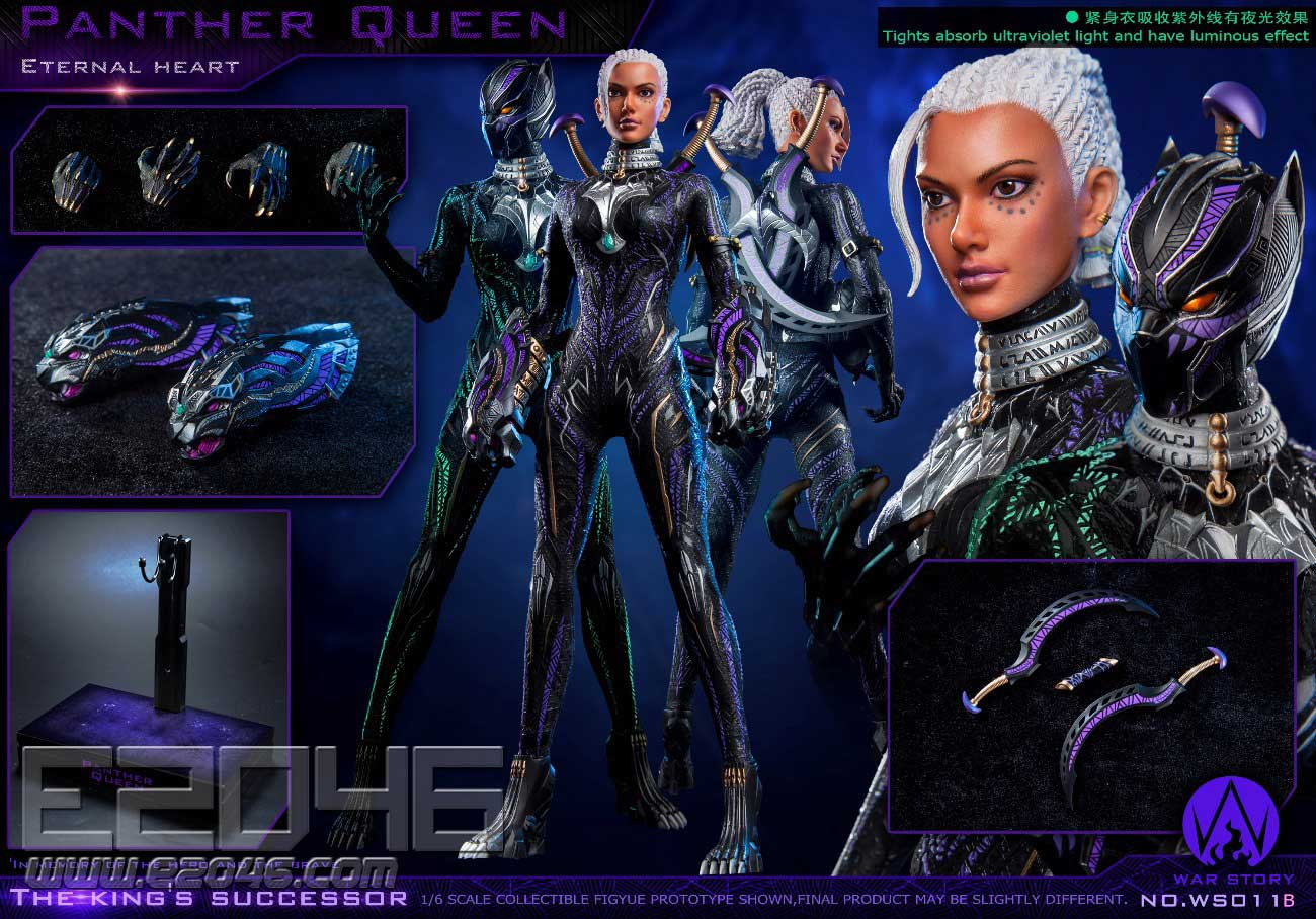 Panther Queen Deluxe Version (DOLL)