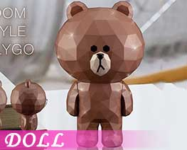 DL2730  Brown Standing Version (DOLL)