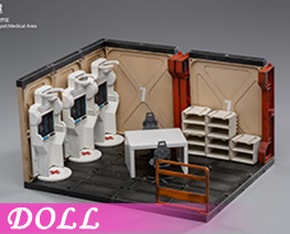 DL4674 1/18 Mecha Depot Medical Area (DOLL)