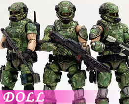 DL2881 1/18 Russian Camouflage Team (DOLL)