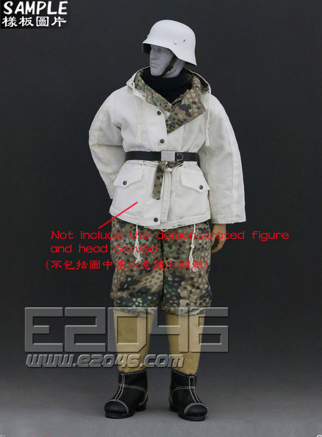 The Ss And The Wehrmacht Snow Double Sided Cotton Padded Jacket B (Doll)