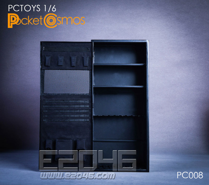Metal Weapon Cabinet 2.0 (DOLL)