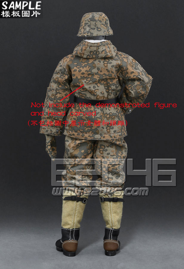 The Ss And The Wehrmacht Snow Double Sided Cotton Padded Jacket C (Doll)