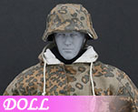 DL0563 1/6 The Ss And The Wehrmacht Snow Double Sided Cotton Padded Jacket C (Doll)