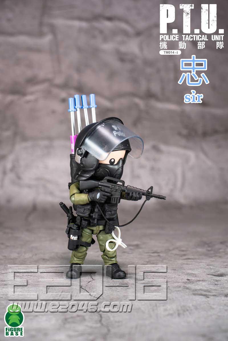 PTU 防暴警察 A (人偶)