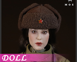 DL4040 1/6 Soviet Female Sniper In Snow Camouflage (DOLL)
