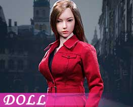 DL1738 1/6 Female trench coat suit B (DOLL)