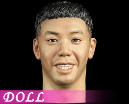 DL1864 1/6 Asian Male Head Sculpt with Expression A (DOLL)
