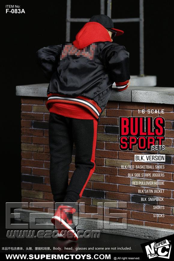 Bulls Sport Sets A (DOLL)
