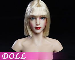 DL2763 1/6 Female Head Carving B (DOLL)