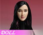 DL0929 1/6 Asian Female Head Sculpt A (Doll)