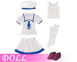 DL2296 1/3 Summer School Uniform Costume Set (DOLL)
