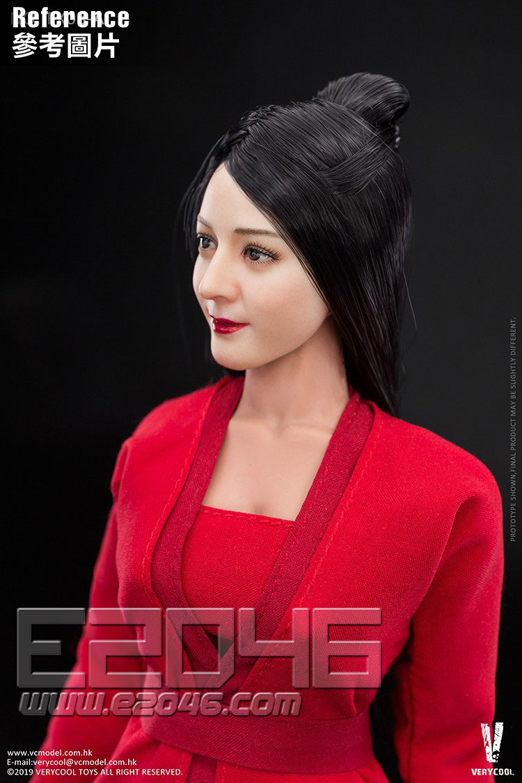Antique Hairstyle Head Sculpture And Body (DOLL)