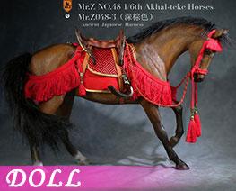 DL3611 1/6 Akhal Teke Horses Set C (DOLL)