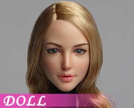 DL1549 1/6 Female head carvings D (DOLL)
