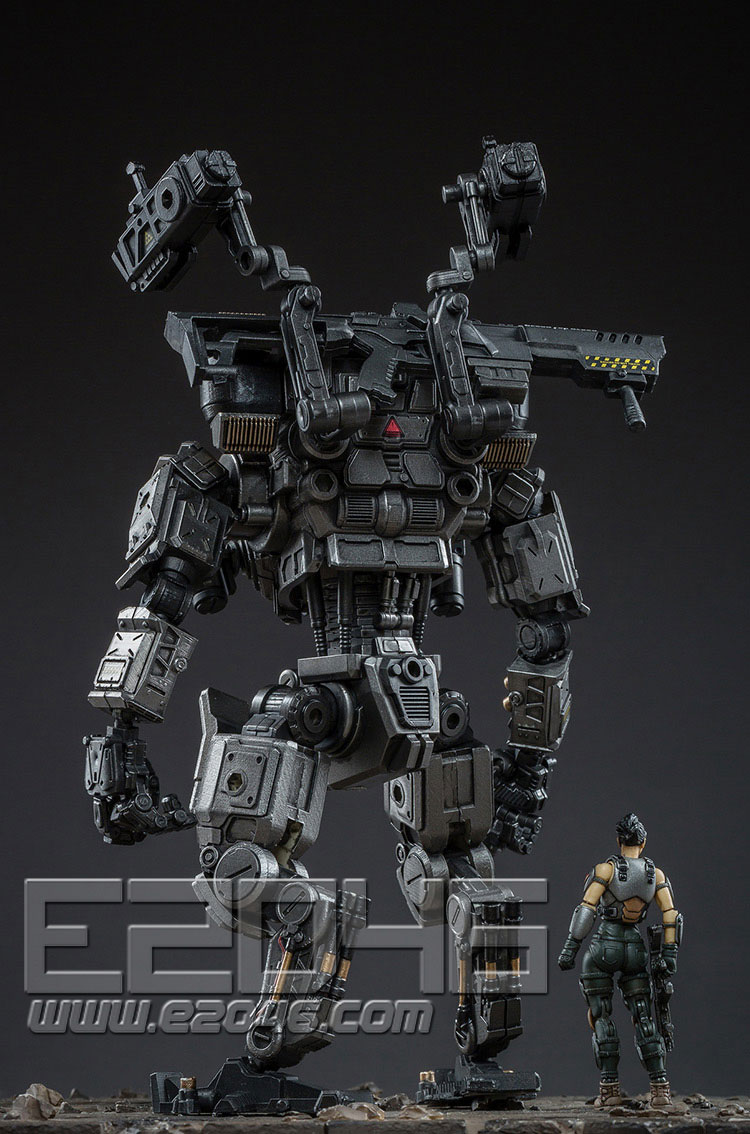 Ares 86 Heavy Attack Machine Armour Medium Silver Black Version (DOLL)
