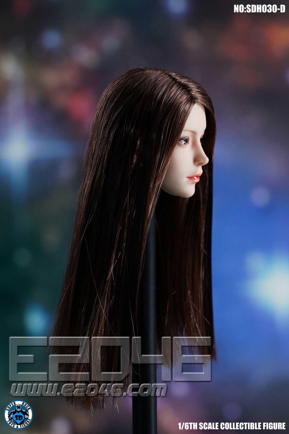 Female Head Sculpture D (DOLL)