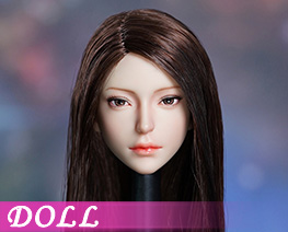 DL4966 1/6 Female Head Sculpture D (DOLL)