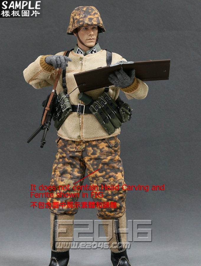 WWII Germany SS Officer Set (Doll)