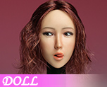 DL1132 1/6 Asian Beauty Head Carving C (Doll)