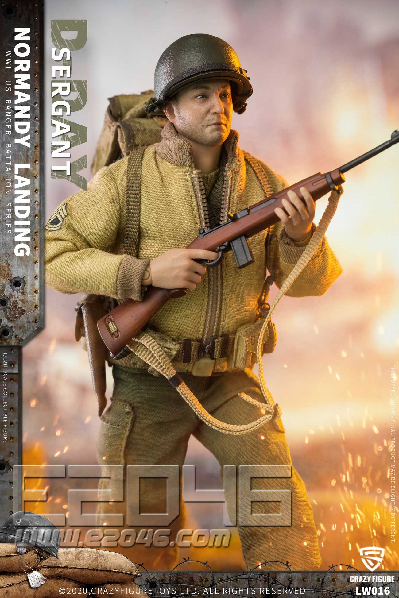 U.S. Sergeant Of World War II (DOLL)