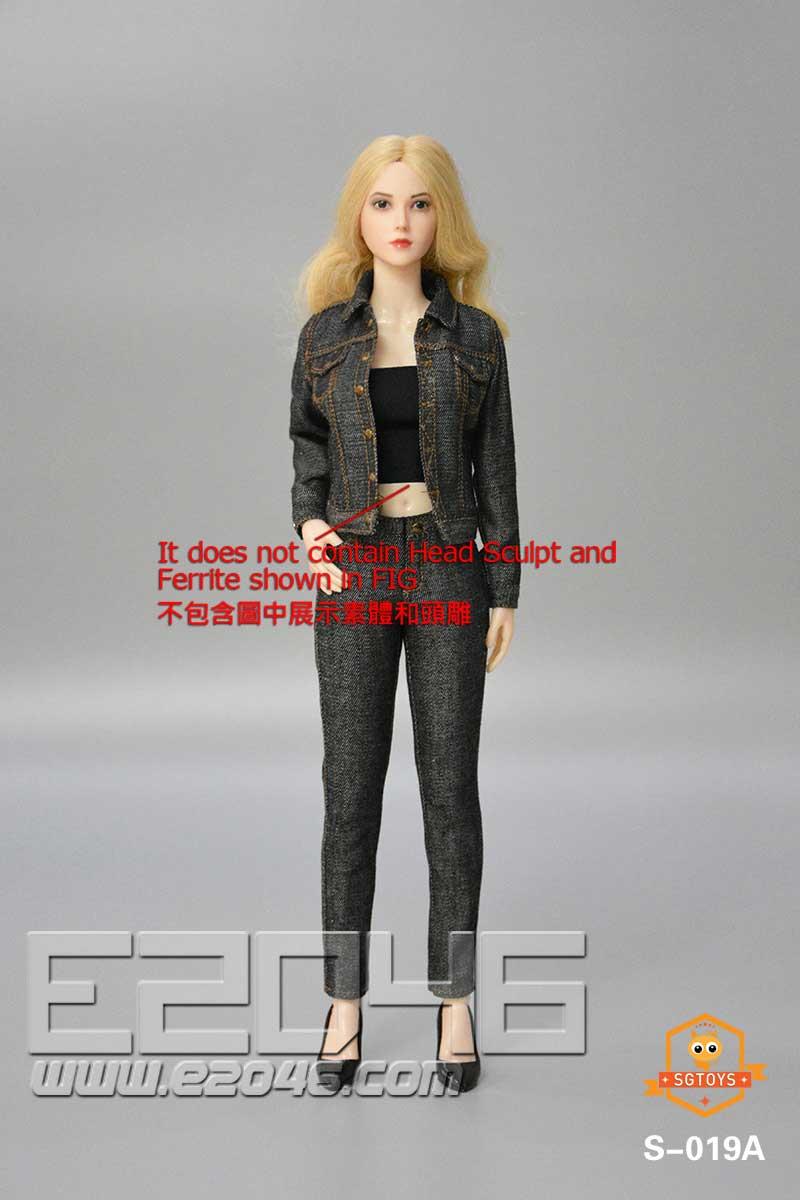 Ladies Denim Suit A (DOLL)