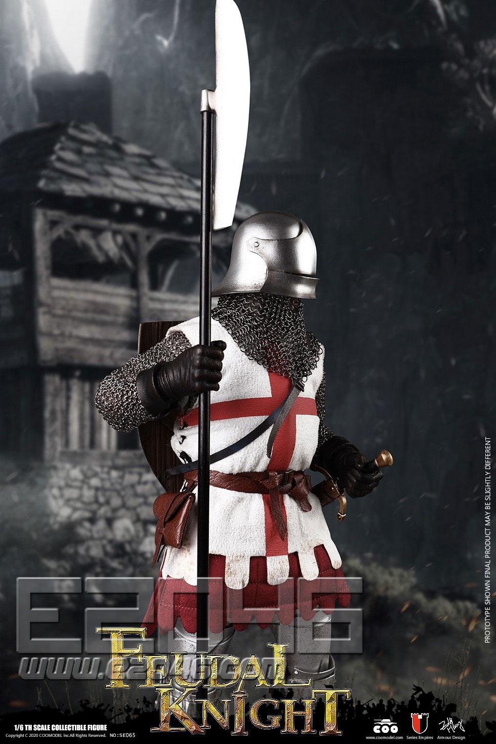 英国封建骑士 (人偶)