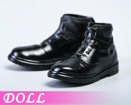DL4849 1/12 Men's leather Boots A (DOLL)
