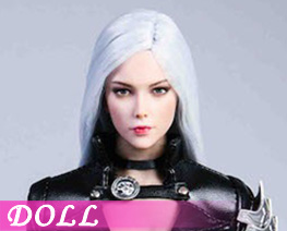 DL4542 1/6 White Haired Assassin Suit (DOLL)