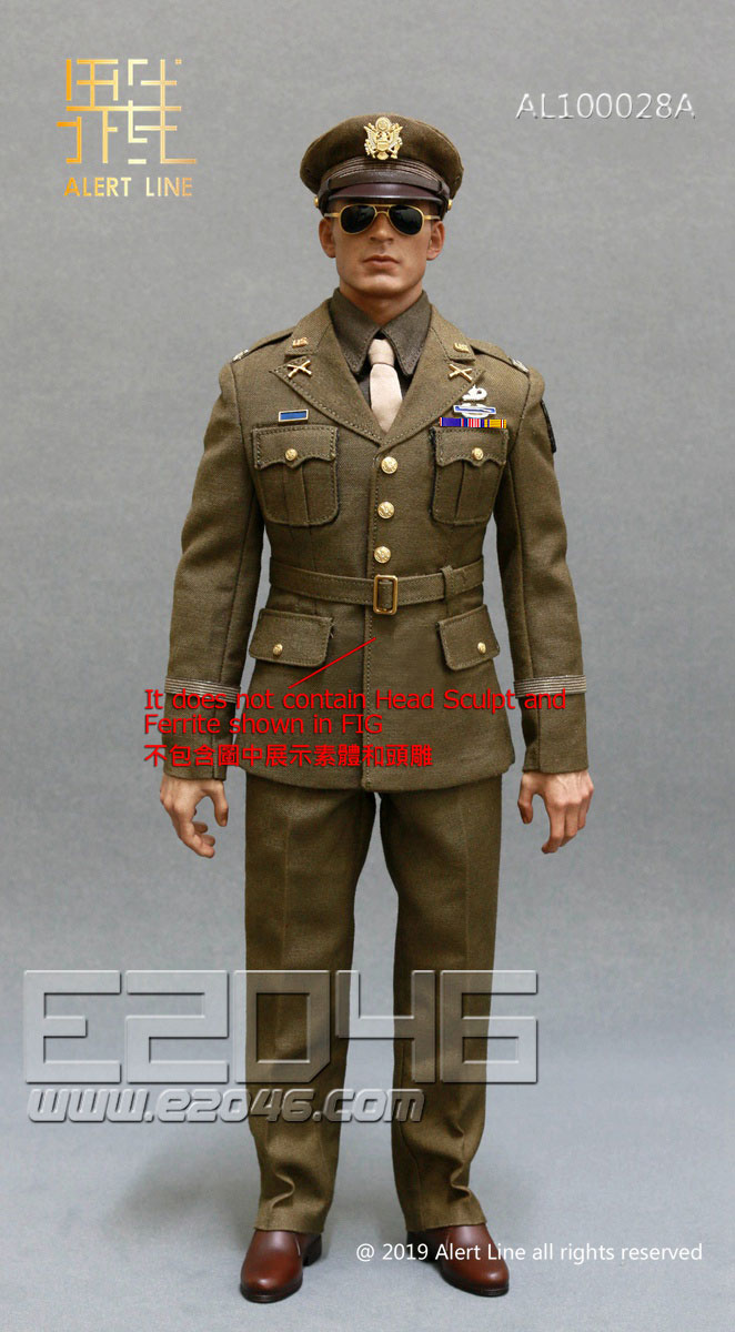 U.S.Army Officer Uniform Suit A (DOLL)