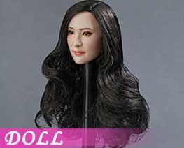 DL1417 1/6 Asian beauty head carving B (DOLL)