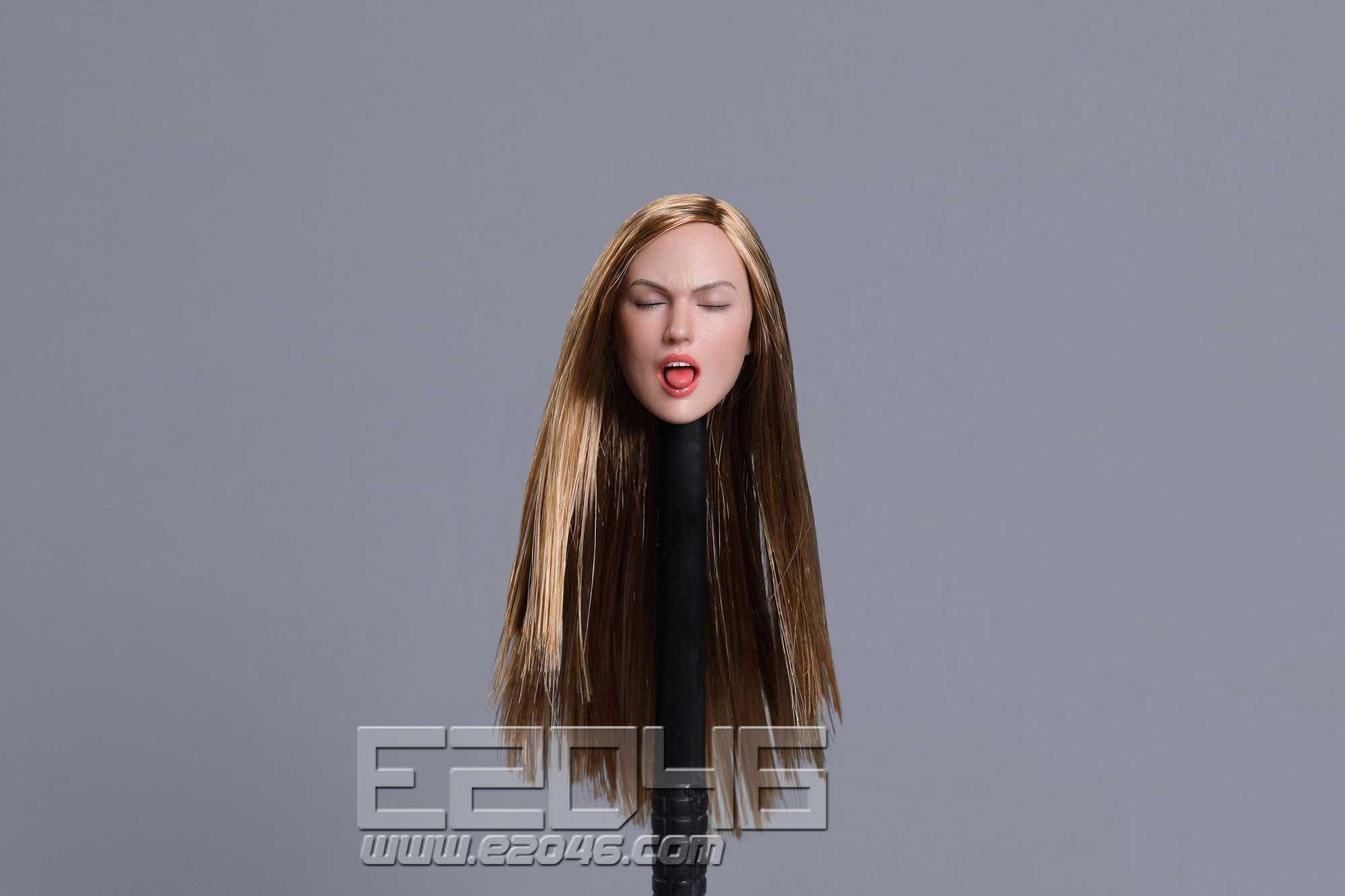 Sexy female head A (DOLL)