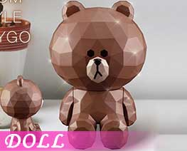 DL2731  Brown Sitting Version (DOLL)