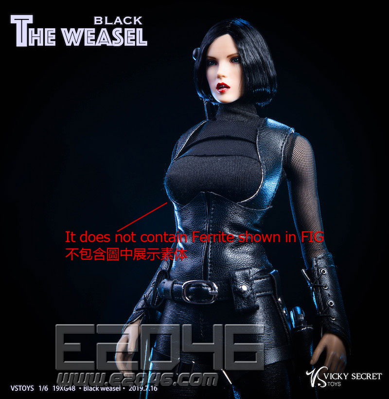 Black Weasel A (DOLL)