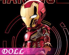 DL2647  Iron Man MK45 Chrome Limited Edition (DOLL)