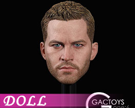 DL2149 1/6 Occident Male Head (DOLL)