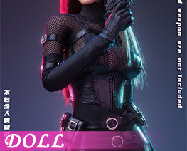 DL4724 1/6 Female Agent Stealth Outfit A (DOLL)
