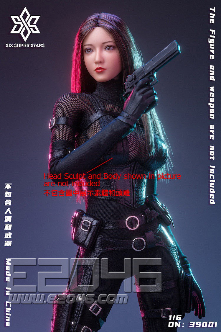 Female Agent Stealth Outfit A (DOLL)