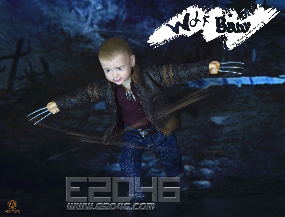 Wolf baby (DOLL)